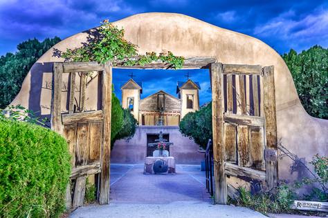 Chimayo Gate