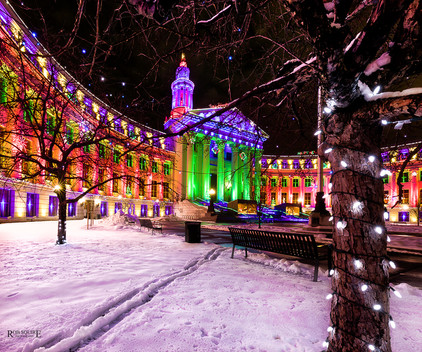 City-County Building Aglow