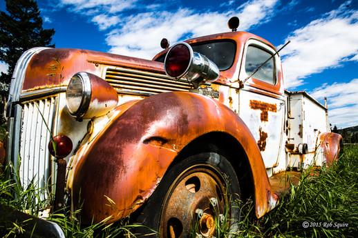 Gold Hill Fire Truck