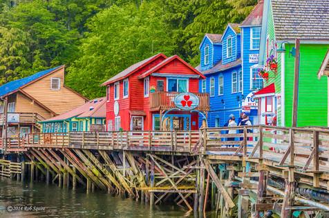 Alaska Oceanfront Color