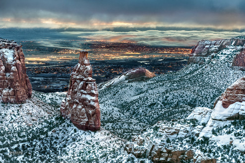 Colorado National Monument Morning