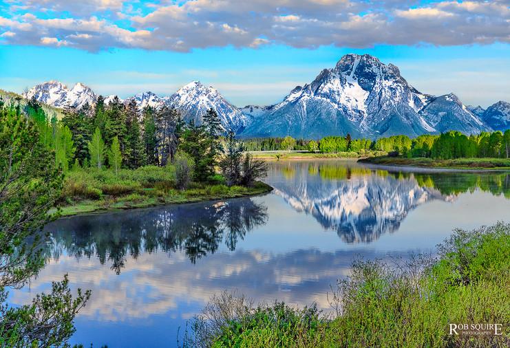 Mt Moran Reflections