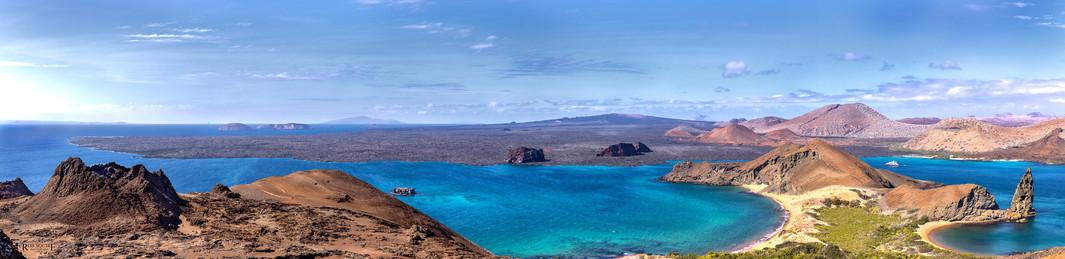 Galapagos' Bartolome Island