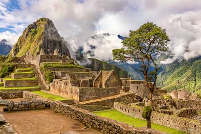 Machu Picchu Close Up