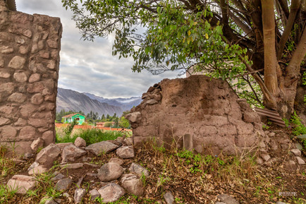 Old Stone Wall In Urubamba