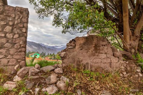 Old Stone Wall In Urubamba