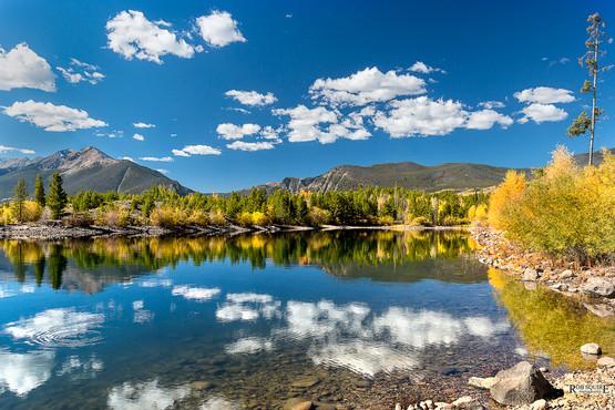 Mountain Lake Color