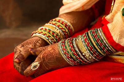 Muslim Bride's Hands