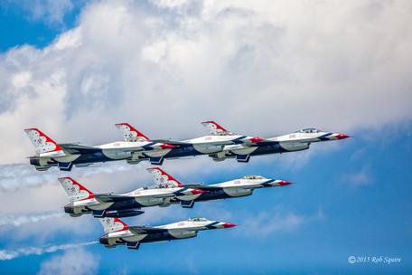 Thunderbirds In Delta Formation