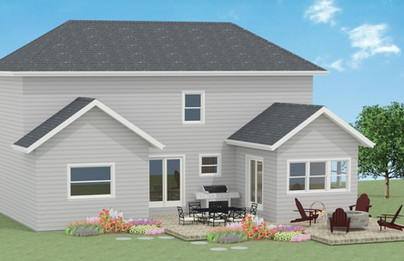 Home Addition with Patio