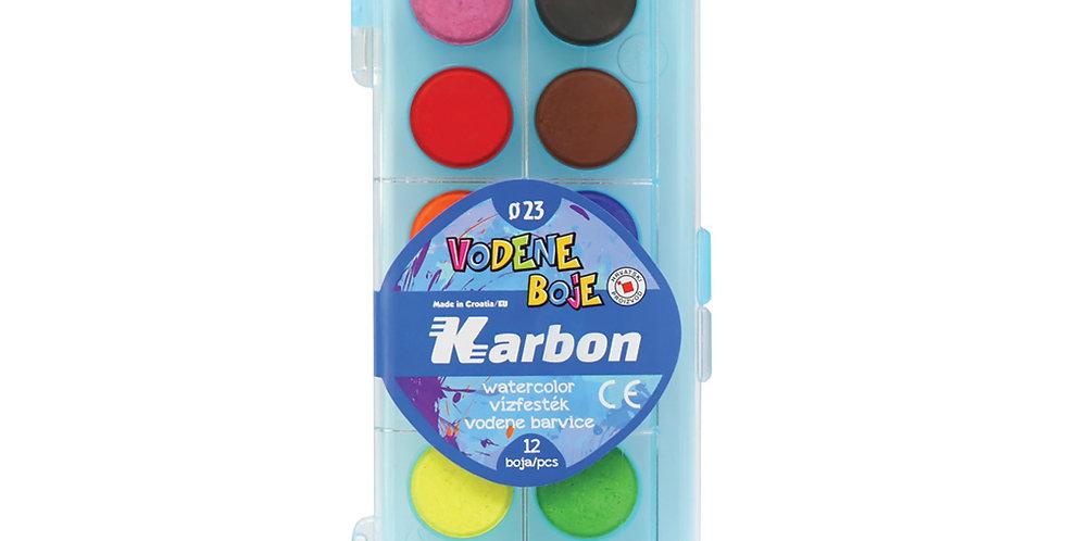 Boje vodene 1/12 fi23 Karbon - svijetlo plava kutija