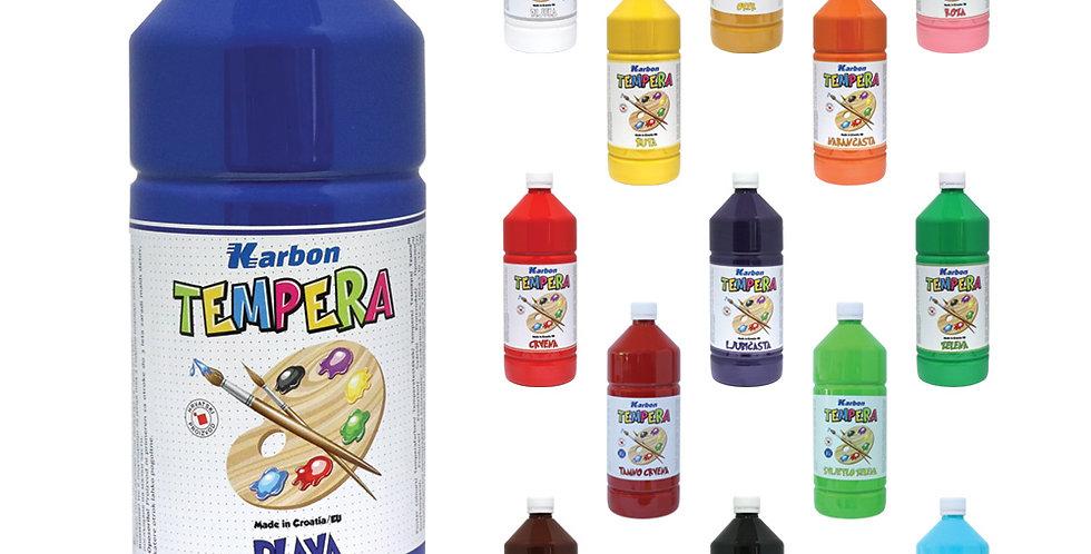 Tempera 550 ml boca Karbon