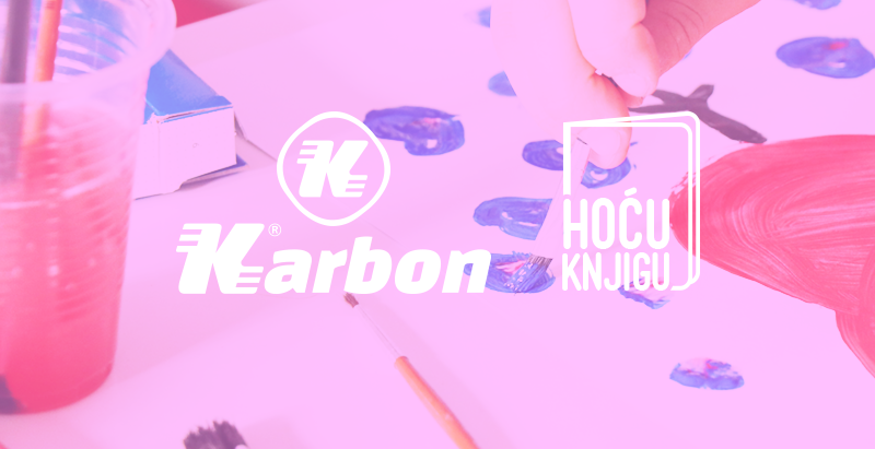 Stvaramo srcem sa Karbonom u Hoću Knjigu Megastore