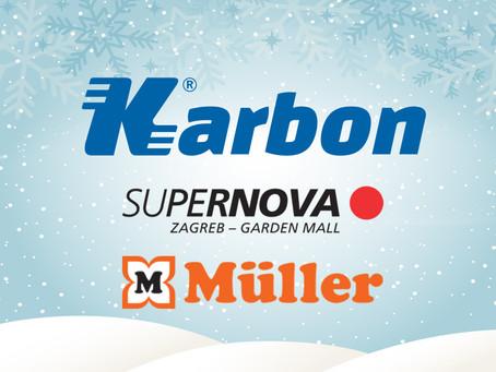 Čarobna božićna likovna radionica u Supernova Garden Mall-u