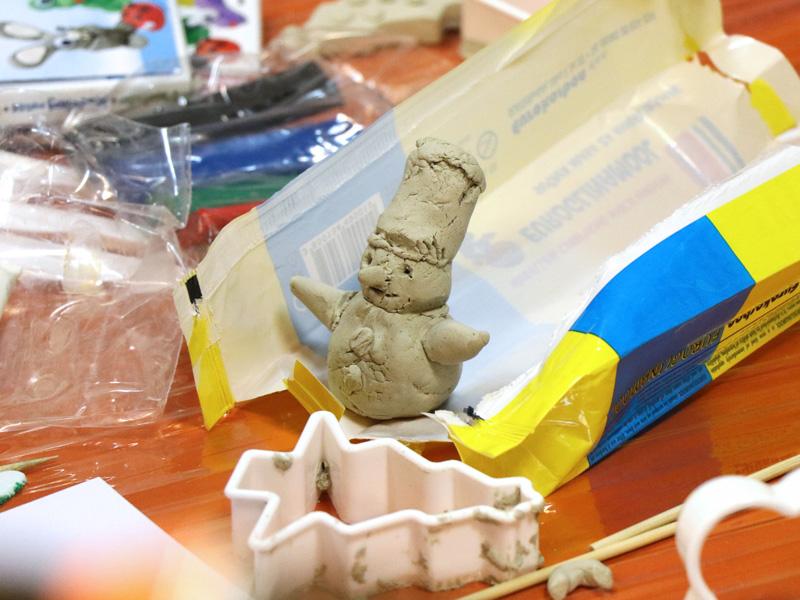 Tehnika modeliranja Karbon glinamolom, plastelinom i glinom.