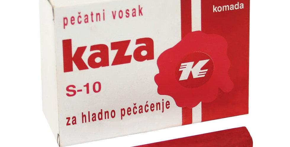 Pečatni vosak KAZA za hladno pečaćenje 1/10 Karbon
