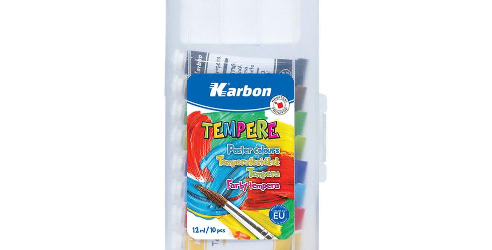 Tempera 1/10 12ml KARBON (PP + zdjelica)