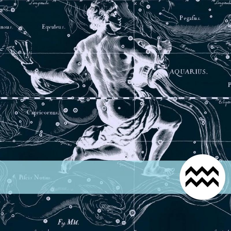 Aquário é regido por Urano & Saturno