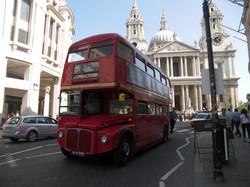 15 Bus to Trafalgar Square