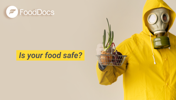 Food needs to be safe at all times. FoodDocs helps you