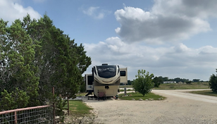 30 & 50 AMP connection included all rates include sewer, water for inside RV use, and electric hook-ups