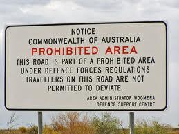 Some contaminated Australian sites