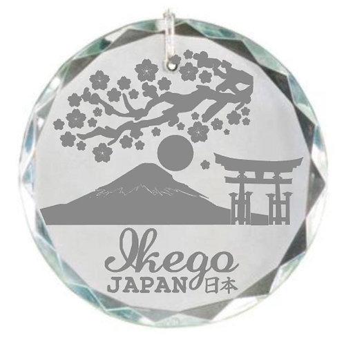 Ikego Laser Engraved Christmas Ornament