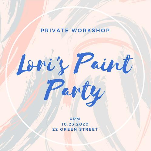 Lori's Paint Party