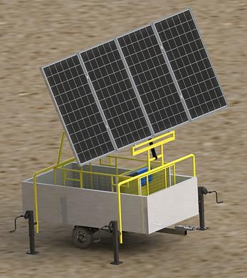 מתקן מים סולארי
