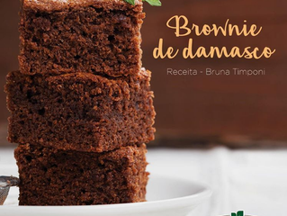 Brownie de Damasco