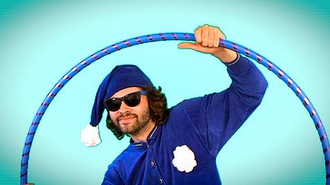 Hoopsmiles hula hoop blue pajamas