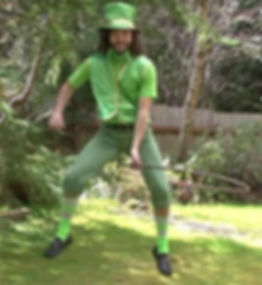 Hoopsmiles Leprechaun Hula Hoop Trick