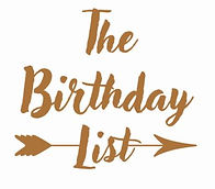The Birthday List logo