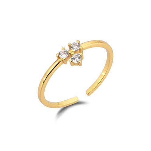 YARA white Ring