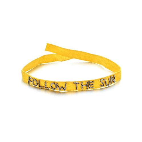 FOLLOW THE SUN Armband