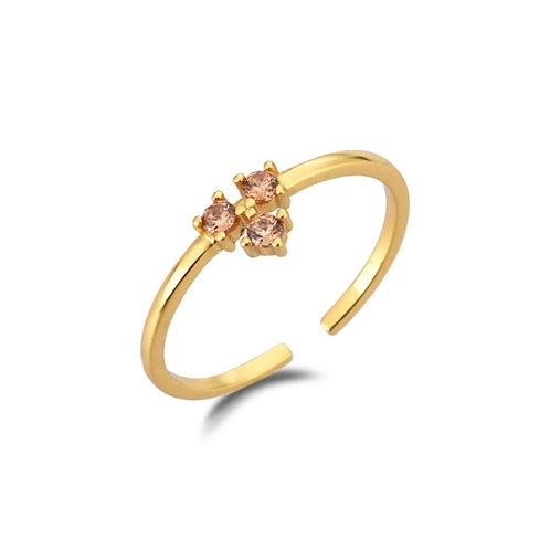YARA champagne Ring