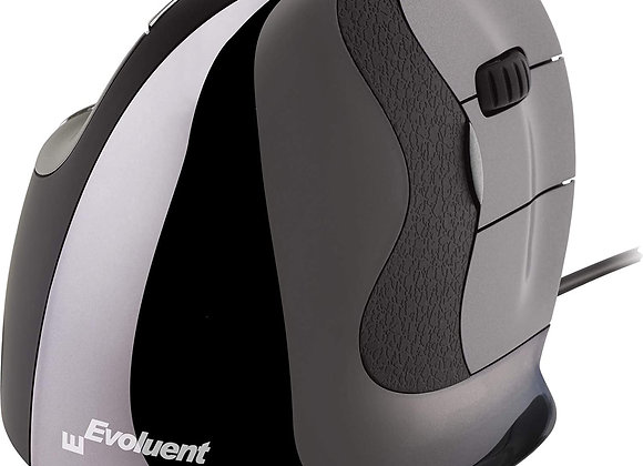 Evoluent VMDS Vertical Mouse D Small Right Hand Ergonomic Mouse with Wired USB