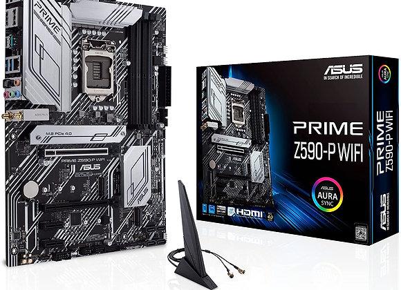 ASUS MB PRIME Z590-P WIFI Z590 LGA1200 Max.128GB DDR4 PCIE ATX