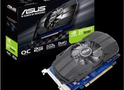 Asus Video Card GeForce GT 1030 2GB GDDR5 PCI Express 64Bit HDMI/DVI/HDCP Retail