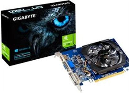 Gigabyte Video Card GT 730 2GB DDR3 64Bit PCI Express 2.0 DVI-D/HDMI/D-SubRetail