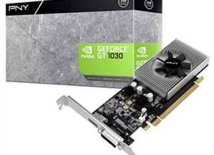 PNY Video Card GeForce GT 1030 2GB with Low Profile Bracket