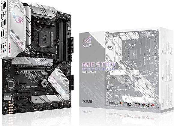 ASUS ROG Strix B550-A Gaming AMD B550 AM4 Max.128GB DDR4 PCI Express ATX