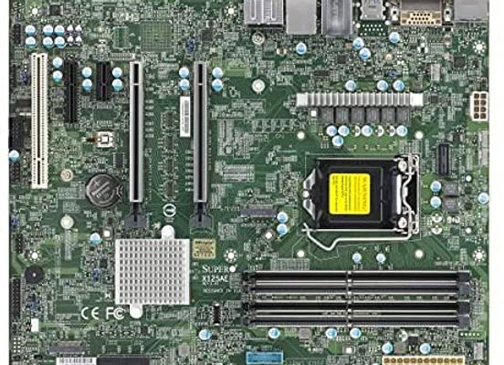 Supermicro X12SAE Motherboard - Intel W480 Chipset, Support Intel Comet Lake-S