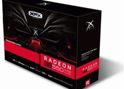 XFX Video Card AMD RX 550 2GB 128Bit DDR5 PCI Express HDMI/DVI