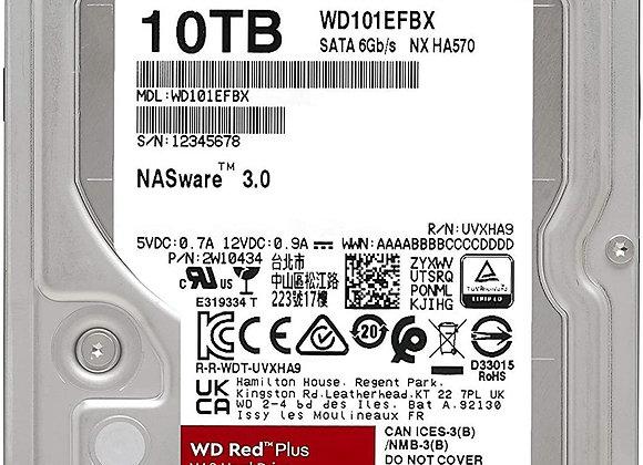 "Western Digital Hard Drive WD101EFBX 10TB 3.5"" SATA WD Red Plus"