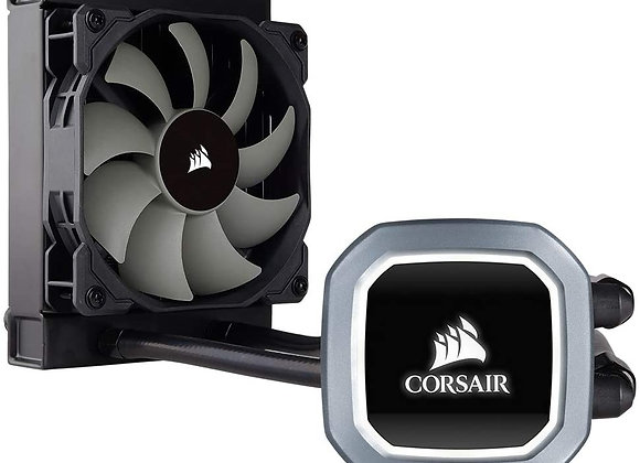 Corsair Hydro Series H60 AIO Liquid CPU Cooler, 120mm Radiator, 120mm SP Series