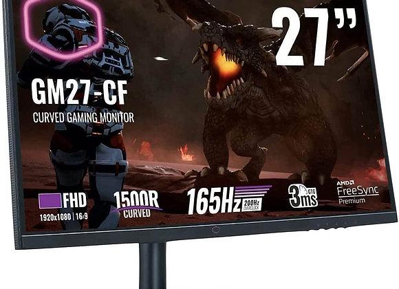 "Cooler Master Monitor CMI-GM27-CF-US 27"" VA 1920x1080 FHD 16:9 3ms HDMI/Display"