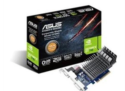 Asus Video Card GeForce GT 710 2GB GDDR5 64Bit HDMI/VGA/DVI Retail