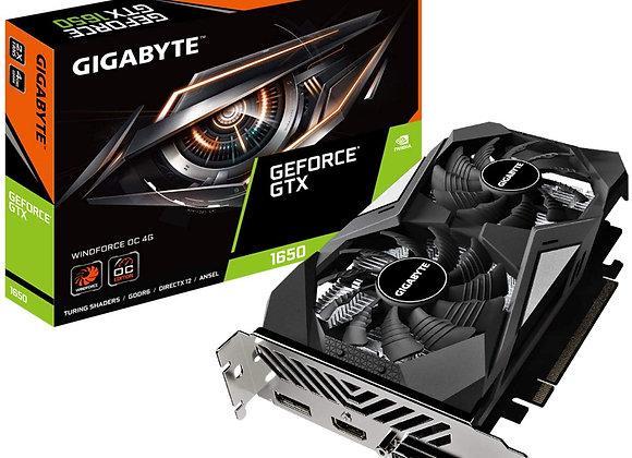 Gigabyte Video Card GeForce GTX 1650 D6 WINDFORCE OC 4G GDR6 Retail