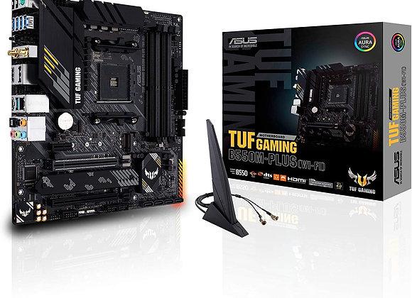 ASUS TUF GAM B550M-PLUS WI-FI AM4 B550 128GB Display Port/HDMI micro ATX